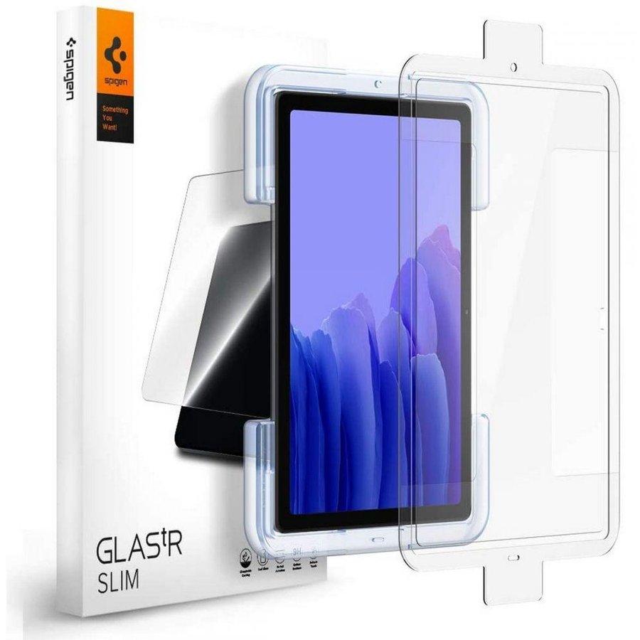 Folie sticla cu sistem de montare Case friendly GLAS.tR EZ FIT compatibila cu Samsung Galaxy Tab A7 10.4 inch