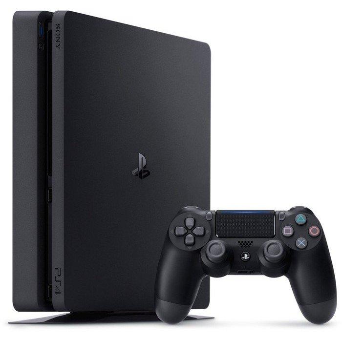 Consola Playstation 4 PS4 SLIM 500GB Jet Black