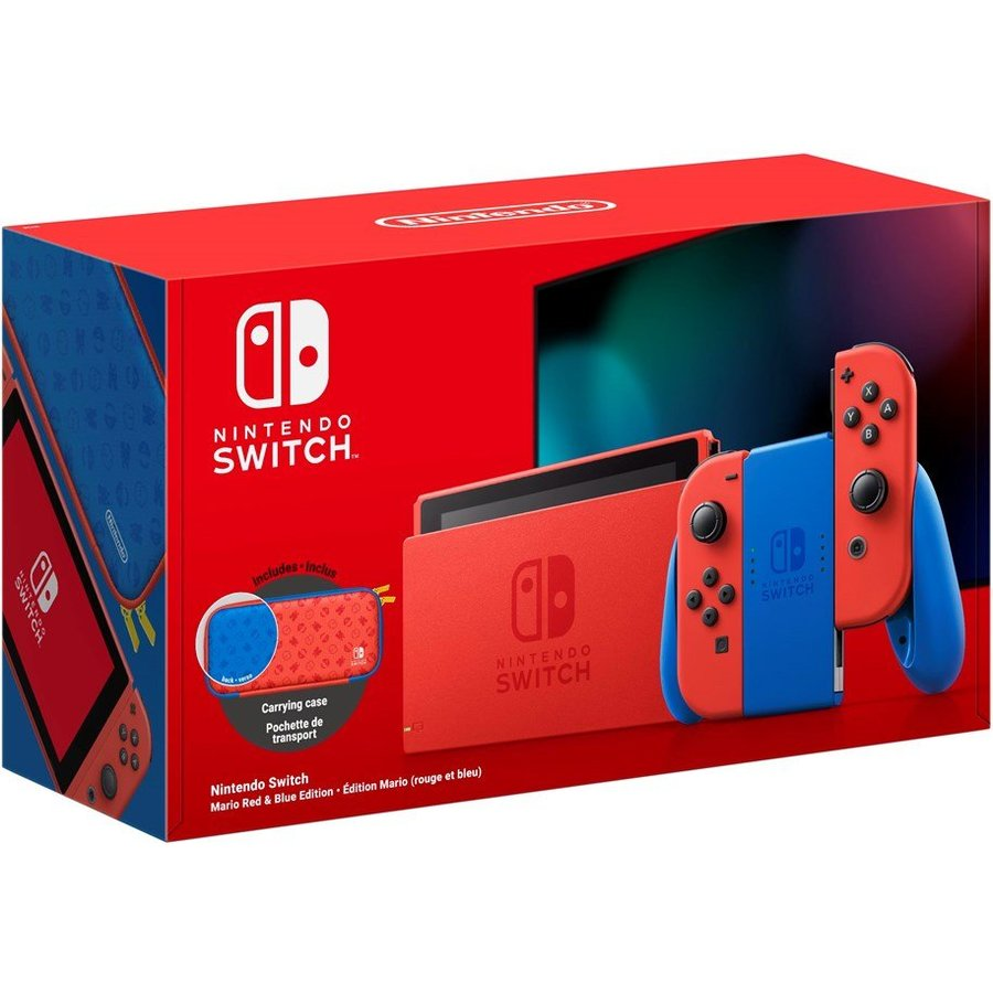 Consola Switch Mario Red & Blue Edition