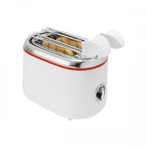 Toaster 2 felii AR1T20 cu clesti inox Timer Alb
