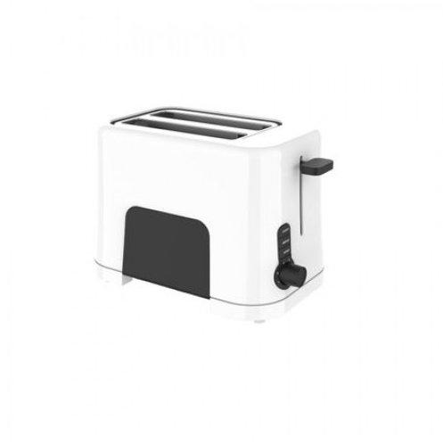 Prajitor de paine WB1T 850W 2 Felii Functie decongelare Incalzire si anulare Alb/Negru