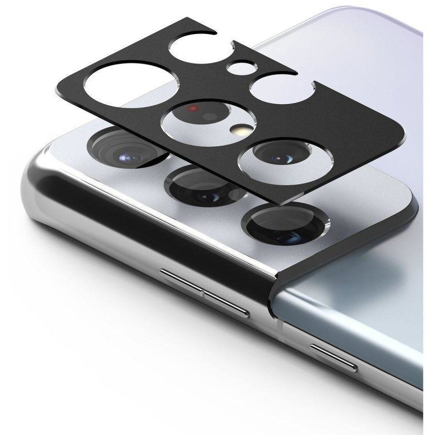 Rama protectie camera foto pentru Samsung Galaxy S21 Ultra Black