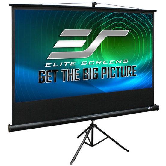 Ecran proiectie cu trepied profesional T120UWV1 4:3 240x180cm 4K Black