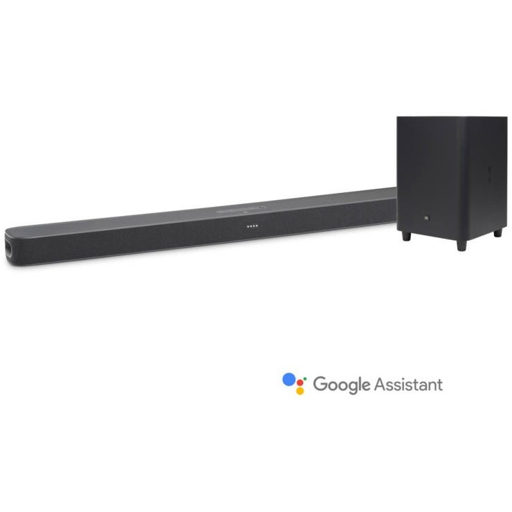 Soundbar Link Bar + Subwoofer Wi-Fi SW10 Android TV Google Assistant Black