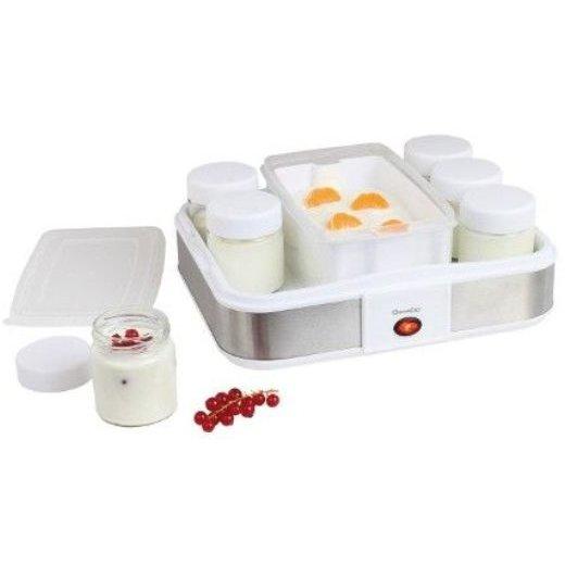 Aparat pentru preparat iaurt DOP156 12 pahare 1.2 litri 21.5W Alb