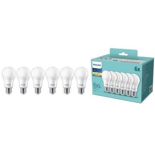 Set 6 becuri LED E27 A67 13W (100W)