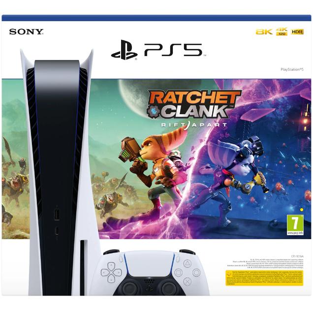 Consola PlayStation 5 + Joc Ratchet & Clank: Rift Apart