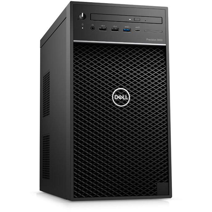 Sistem desktop Precision 3650 MT Intel Core i7-10700K 16GB DDR4 512GB SSD nVidia Quadro RTX 4000 8GB Windows 10 Pro Black