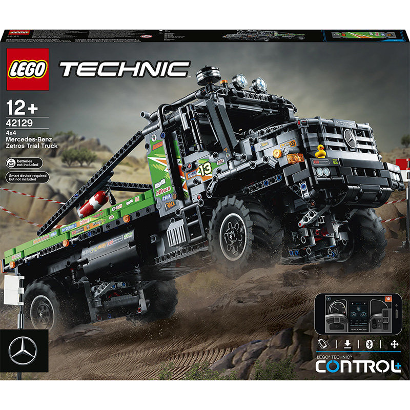 Technic 42129 4x4 Mercedes-Benz Zetros Trial Truck 2110 piese