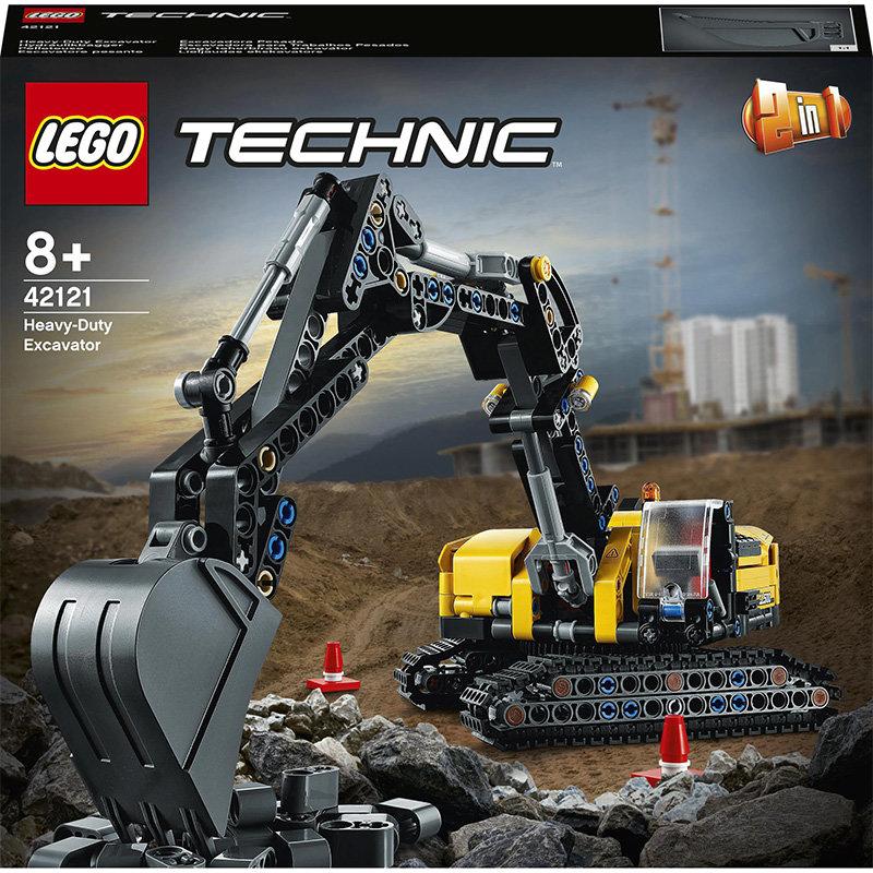 Technic 42121 Heavy Duty Excavator 569 piese