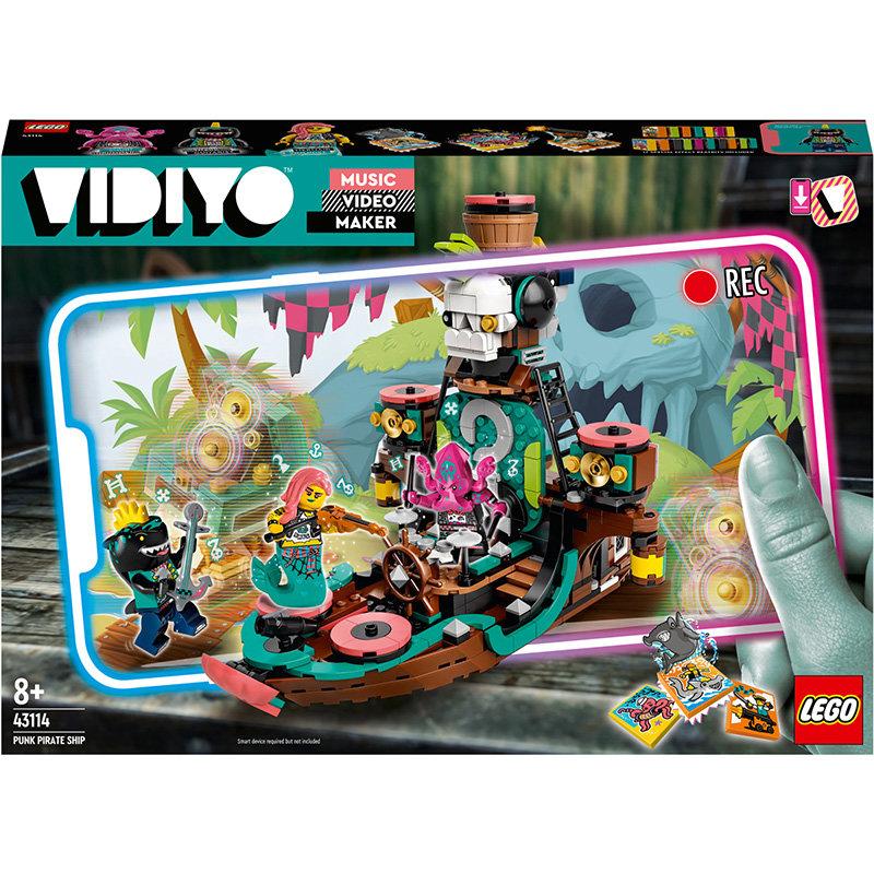 VIDIYO 43114 Punk Pirate Ship 615 piese
