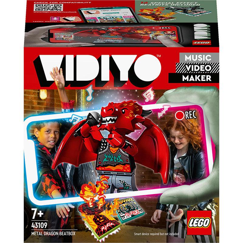 VIDIYO 43109 Metal Dragon BeatBox 86 piese