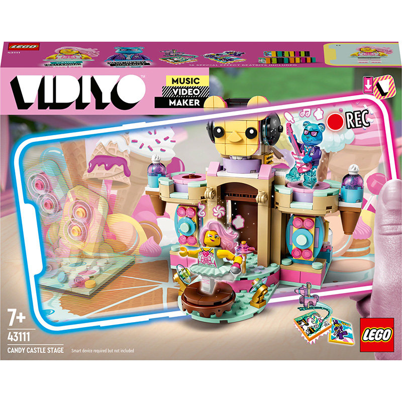 VIDIYO 43111 Candy Castle Stage 344 piese