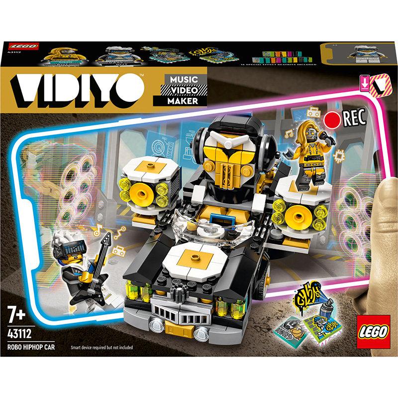 VIDIYO 43112 Robo HipHop Car 387 piese