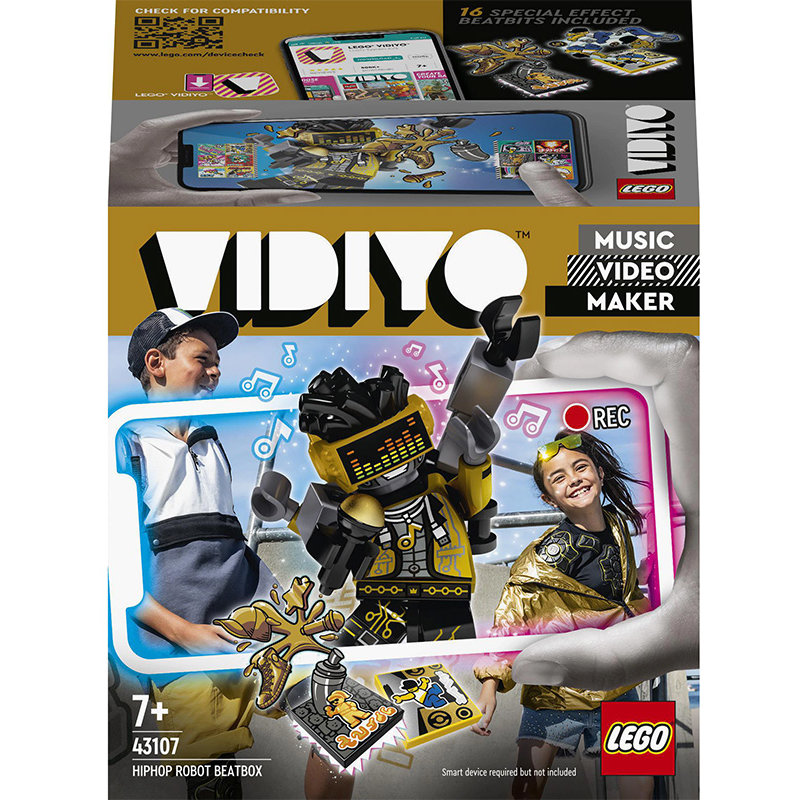 VIDIYO 43107 HipHop Robot BeatBox 73 piese