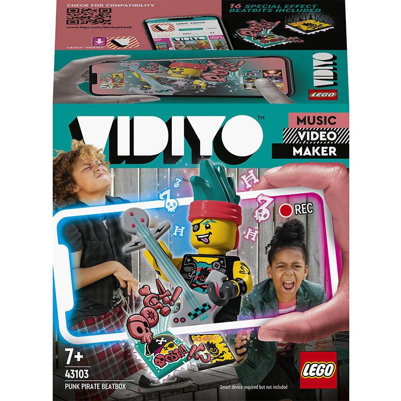 VIDIYO 43103 Punk Pirate BeatBox 73 piese