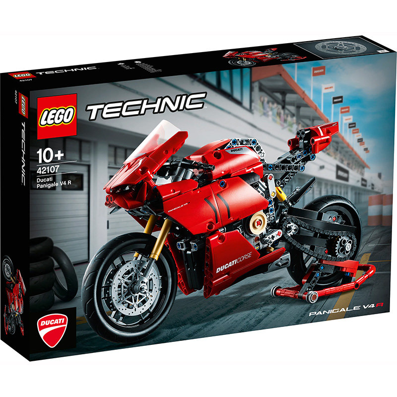 Technic 42107 Ducati Panigale V4 R 646 piese