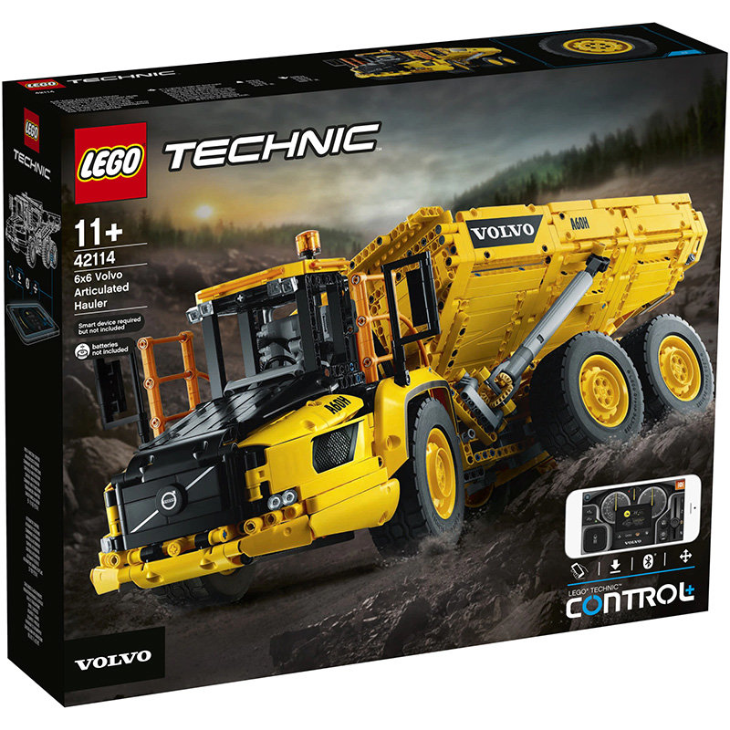 Technic 42114 6x6 Volvo Articulated Hauler 2193 piese